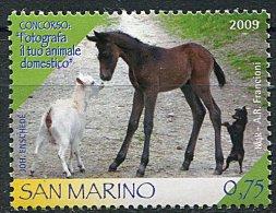 (cl.18 - P12)  St Marin ** N° 2211 (ref. Michel Au Dos) - Poulain, Chèvre Et Chien - - Saint-Marin
