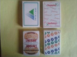 4 jeux de 32 cartes. jeux neufs. Pas de Calais. Champion. Damtaler. MMA