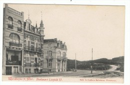 ( 153 )    WENDUYNE S/ MER -  Boulevard Léopold II - Wenduine
