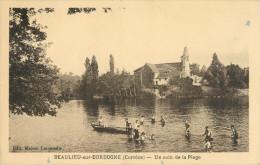 19 BEAULIEU SUR DORDOGNE - UN COIN DE LA PLAGE - France