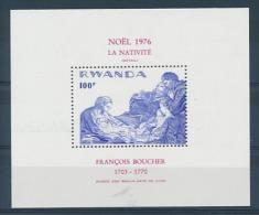 Rwanda - BL69 (789) - Nativit� - 1976 - MNH