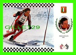SPORTS D'HIVER - SKI SLALOM - DIEGO AMPLATZ, ITALIA - No 10 SERIE ESQUI - - Sports D'hiver