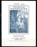 Rwanda - BL25 (429A) - Van Dyck - 1971 - MNH