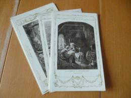 LOT 11 Cartes Postales Chromos Publicitaires Chocolat Vinay - Schokolade