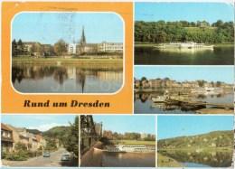 Rund Um Dresden - MS Friedrich Engels - Laubegast - Germany - Gelaufen - Dresden