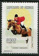 (cl.18 - P18) Sénégal ** N° 1400 (ref. Michel Au Dos) -  Sports équestres - - Senegal (1960-...)