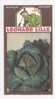 CHROMO , BON POINT , Leonard Lille , 2 Scans ,  N°165  CHOU MILAN - Chromos