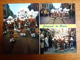 Belgique, Carnaval De Binche, Multi Vue - Binche
