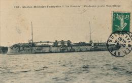 """BATEAUX - MARINE MILITAIRE FRANCAISE - """" LA FOUDRE """" , Croiseur Contre Torpilleur - Krieg"""