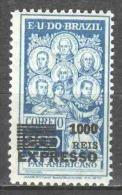 Brasil Brazil 1930 Mi 336 MH