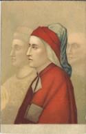 IT.- Firenze. Museo Nazionale. Ritratto Di Dante Alighiere. 2 Scans - Postkaarten