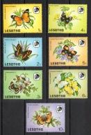 Lesotho 1984 - Farfalle Butterflies MNH ** - Lesotho (1966-...)