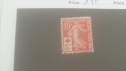 LOT 250571 TIMBRE DE FRANCE NEUF** N�147 VALEUR 100 EUROS LUXE