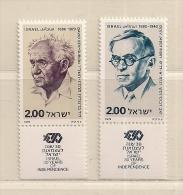 ISRAEL   ( D16 - 7835 )  1978  N° YVERT ET TELLIER  N°  714/715   N** - Neufs (avec Tabs)