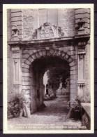 ECAUSSINNES - Château - Porche D'entrée Avec Les Armoiries Des Van Der Burch - Non Voyagé - Not Circulated. - Ecaussinnes