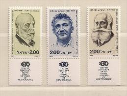 ISRAEL   ( D16 - 7844 )  1978  N° YVERT ET TELLIER  N°  721/723   N** - Neufs (avec Tabs)
