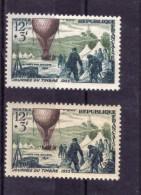 N* 1018 VARIETE DE COULEUR (couleur Foncée Et Couleur Claire)  NEUF** - Curiosités: 1950-59 Neufs