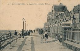 CAYEUX SUR MER - La Digue Et Les Nouvelles Cabines - Cayeux Sur Mer
