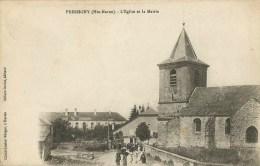 Pressigny (Haute-Marne)  L'Eglise Et La Mairie - Autres Communes