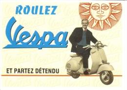 Vespa Scooter (1955)  -  CPM - Motorfietsen