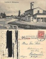 Abbiategrasso - Il Castelletto ANNO 1916 TIMBRO VERIFICA CENSURA (A-L 049) - Milano