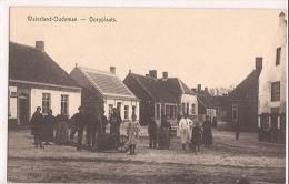 WATERLAND-OUDEMAN DORPSTRAAT  1914/18 Re526 Duits Beschreven - Sint-Laureins