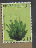 BHUTAN ,2014 ,MNH, FLORA, FLOWERS, 1v - Plants