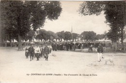 FR-85: FONTENAY LE COMTE: Vue D'ensemble Du Champ De Foire - Fontenay Le Comte