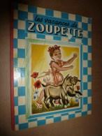 1952 Les VACANCES De ZOUPETTE ,images De Guy Sabran - Bücher, Zeitschriften, Comics