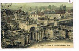 CPA (28) ANET- Le Château -Portail - Vue De La Cour . (024) - Anet