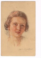 28857 ( 2 Scans ) Enfant - Schild - Kind - Portraits