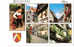 Eguisheim Village Fleuri Et Ruelles Pittoresques - France