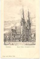 RARE : WESEL Neue Maria-Himmelfahrtkirche  Vor 1904 (neue) - Wesel