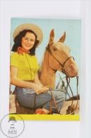 1962 Small/ Pocket Calendar - Cinema/ Movie Actress - Deanna Durbin ?? Actress - Tamaño Pequeño : 1961-70