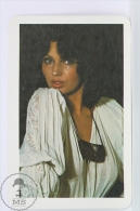 Vintage 1979 Small/ Pocket Calendar - Brunette Sexy Lady - Hungarian Advertising - Calendarios