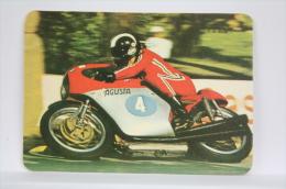 Vintage 1977 Small/ Pocket Calendar - Motorcycle Racing - MV Agusta - Calendarios