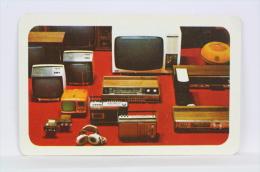 Vintage 1979 Small/ Pocket Calendar - Television & Radio Products - Czech Advertising - Tamaño Pequeño : 1971-80