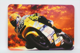 2003 Small/ Pocket Calendar - Valentino Rossi Motorcycle Racing Number 46 - Calendarios
