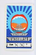1977 Small/ Pocket Calendar - Utasellato Railway/ Train Service - Hungary Advertising - Calendarios