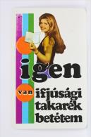 1975 Small/ Pocket Calendar - Igen Van Ifjusagi - Hungarian Advertising - Tamaño Pequeño : 1971-80
