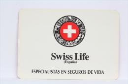 1994 Small/ Pocket Calendar - Swiss Life Spain - Life Insurance Specialists - Calendarios