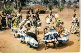 CPSM - NIGERIA - Acrobatic Dancers - Danses - Cartes Postales