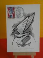FDC- Carte Maxi, Anniversaire De L'Armistice - Paris - 9.11.1968 - 1er Jour, Coté 4,40 € Lot 2 Cartes - Cartes-Maximum