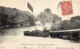 ILE D YEU L ENTREE DU PORT DE LA MEULE 1905(LOT S12) - Ile D'Yeu