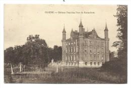 CPA - OLSENE - Château Stanislas Piers De Raveschoot - Kasteel  // - Zulte