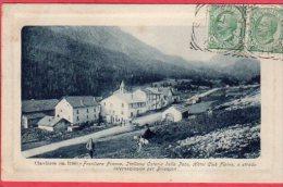 CPA 05 CLAVIERES Frontière Franco Italienne  Hotel Club Alpin - Otros Municipios