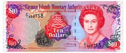 CAYMAN ISLANDS 10 DOLLARS 2005 Pick 35 Unc