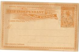 Congo Belge - Entier Postal de 1898