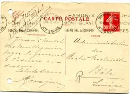 Entier Postal - Carte Postale Yvert CP1 - Semeuse Camée 90 C Rouge - Cote 50 Euros - R 1761 - Standaardpostkaarten En TSC (Voor 1995)