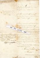 DEMANDE De PLACE De LIEUTENANT SECONDAIRE De VILLE -  Julien Ménanh Natif Der PLEUGRIFFET '56) Domicilié à AURAY - Vecchi Documenti